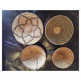 Tribal wedding baskets