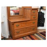 Antique Victorian Dressing Table / Chest / Dresser