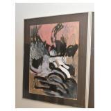 Framed Abstract Artwork / Painting