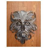 Metal Tribal Masks / Wall Hangings