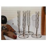 Wire Wrapped Test Tube Bud Vases