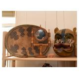 Baskets, Ethnic Collectibles