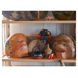 Basketry, Pottery, Ethnic Collectibles