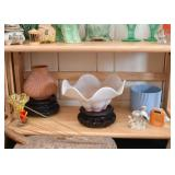 Pottery & Glassware, Asian Display Stands