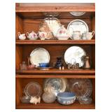 Silver Plate, Serving Pieces, Trays, Platter, Decanter, Etc.