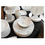 Blue & White Floral Dinnerware / Dishes