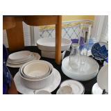 Casseroles, Baking Dishes, Glass Dinner Plates