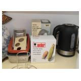 Electric Can Opener, Water Kettle, Baking Pans, Grill Accessories