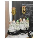 Vintage Figural Ceramic Table Lamps