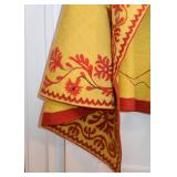 Antique / Vintage Spanish Cloak with Applique