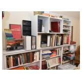 Bookcases, Office Supplies, Books