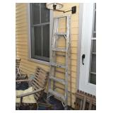 Aluminum A-Frame Ladder