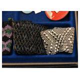 Beaded & Mesh Cuffs