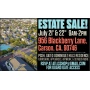 LL's Estate Sale Dominguez Hills/Carson