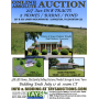 ONLINE ABSOLUTE AUCTION of 217 Acres in 8 Tracts Including 2 Homes  Pool  Pond and Barns