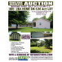 ONLINE ABSOLUTE AUCTION of 3BR  2BA Home and Buildings on Large Lot