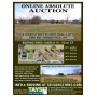 ONLINE ABSOLUTE AUCTION of 4 UNRESTRICTED BUILDING LOTS