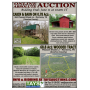 Online Absolute Auction of Log Cabin on 0.78 Ac and 68 Ac Wooded Tract