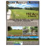 ONLINE ABSOLUTE AUCTION of 192 ACRES in 6 TRACTS - CREEK FRONTAGE