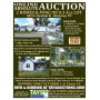 ONLINE ABSOLUTE AUCTION of 2 HOMES & POOL ON 0.3 ACRE LOT