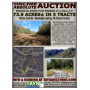 ONLINE ABSOLUTE AUCTION - 73.9 Acres IN 3 TRACTS   AN OUTDOORSMAN'S DREAM