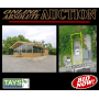 ONLINE ABSOLUTE AUCTION - COMMERCIAL BUILDING ON 0.75 Ac
