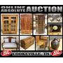 ONLINE ABSOLUTE AUCTION - FURNITURE, GLASSWARE, COLLECTIBLES & MORE