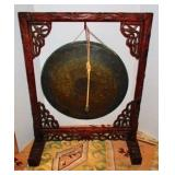 Gong On Stand