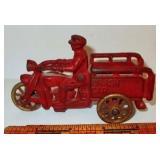 Cast Iron 3 Wheel Motorcycle