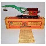 Lionel Standard Crane Car w/ Box