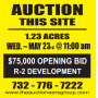 Real Estate Auction- Neptune NJ 1.23 Acres!