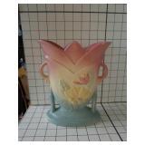 Magnolia matte hull art pottery vase