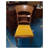 Very Nice Antique Tiger Oak Chair
