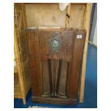 Antique Wooden Broadcast Radio