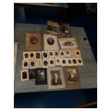 Awesome RARE Tin box with tin type photos