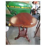 Beautiful Handcarved Wooden Side Table