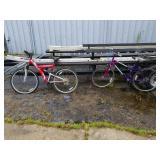 Lot of 2 Mountain Bikes