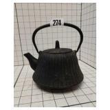 Vintage Cast Iron Tea Kettle