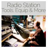 Radio Station Liquidation, Tools, Equipments & More