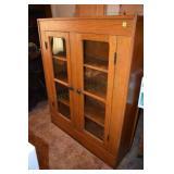 Golden Oak Bookcase, Nice, Seems original Finish