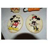 Vintage Toys, Chalk Mickey & Minnie,trolls