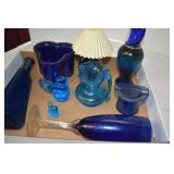 Assorted Cobalt Collectibles,