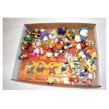 Cartoon Characters, plastic & Ca 1991