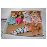 Small Doll Assortment, 1966 Mattel Barbie?