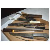 Old Knives,Kitchen, 4 old honesteels