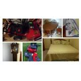 Quality Furnishings, Outdoor Items & more