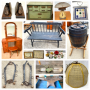 Antique Butter Churn, Bar Cabinet, Lady Schick Consolette Hair Dryer, and Much More!