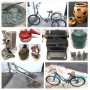 Online Auction - Hummel Figurines, Schwinn Bike, 3-Wheel Bike, Royal Typewriter, Vintage Projector
