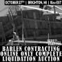 Barlen Contracting Online Liquidation Auction
