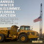 ANNUAL WINTER KISSIMMEE, FLORIDA AUCTION- FEBRUARY 14-16, 2022